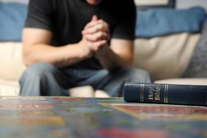 Prayer and a Bible